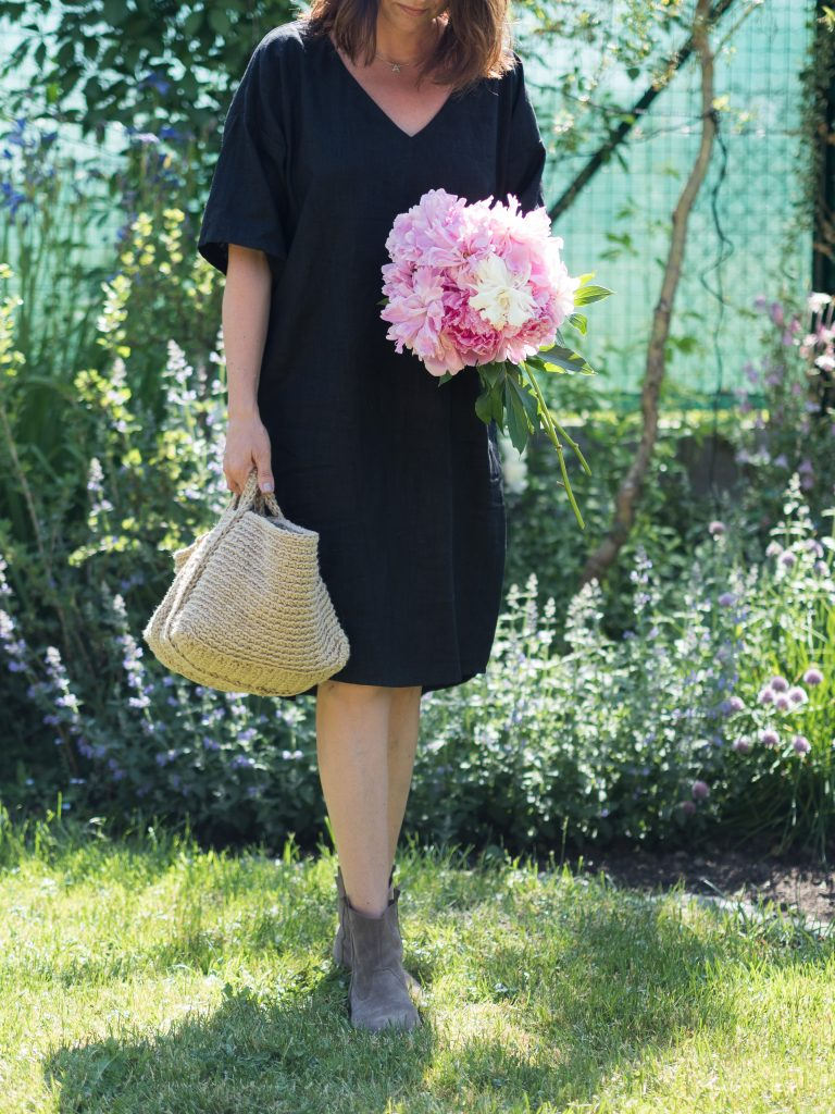 black linen dress 50 ARCHES