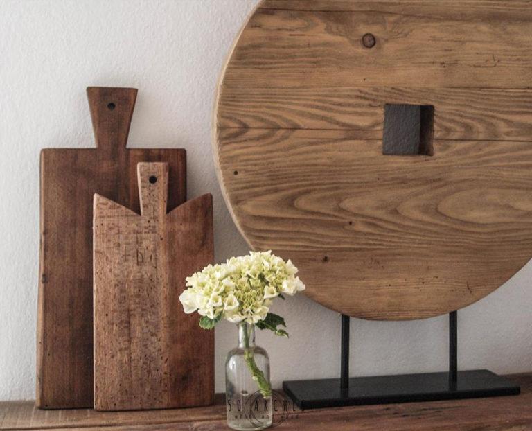 drevené lopáre & kruh