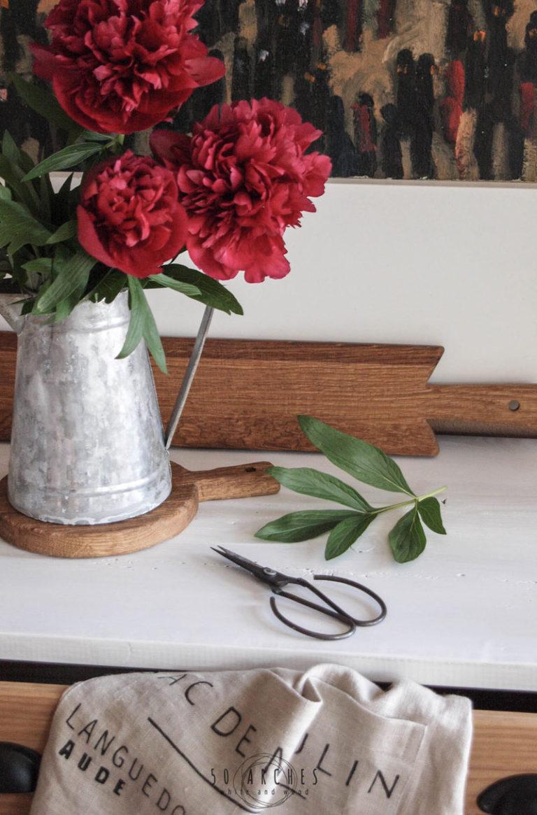 drevené lopáre & ľanová utierka