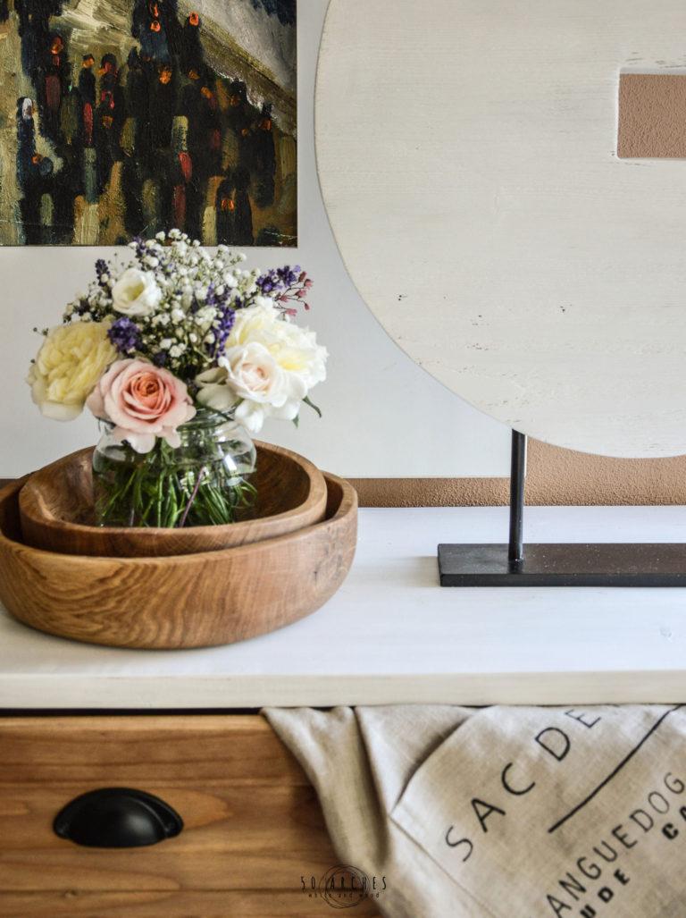 drevené misy & kruh