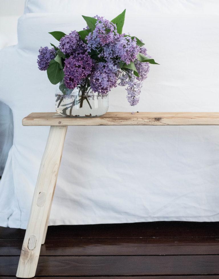 lavica zo starého dreva